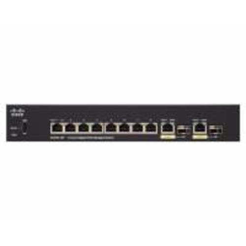 SG350-10P-K9-EU Коммутатор Cisco SG350-10P 10-port Gigabit POE Managed Switch